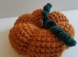 Crochet decorative pumpkin