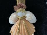Peach Seashell Angel