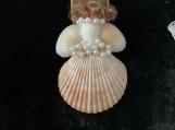 Pearl Bow Seashell Angel