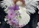 Purple Angel Ornament