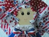 Scrap Babies American Pride Collection Doll