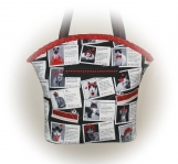 Tootles Boutique Bag - Dating Single Cats Kitty Cat Designer Fab