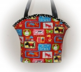 Tootles Boutique Bag - Dogs Spotted Everywhere by Robert Kaufman