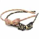 BUY 1 GET 1 FREE Small Princess Silk Ribbon Headband for Girls