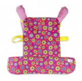 Come with me Unisex doll carrier, baby doll carrier FLOWER POWER