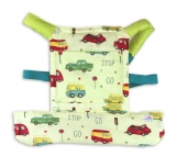 Come with me Unisex doll carrier, baby doll carrier VINTAGE CARS