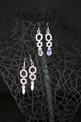 """""""Double Up"""" earrings"""