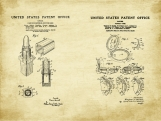 Makeup Patent Art Duo-U.S. Shipping Included