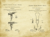 Medical Duo II Patent Art Duo-U.S. Shipping Included