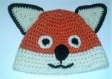 Child Hat - Fox hat - Crochet Hat