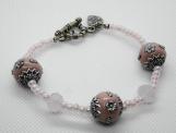 Pink Kasmiri Bracelet