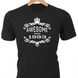 Awesome Since 1993 — Birthday T-Shirt