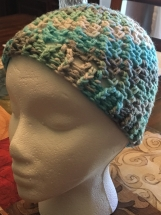 Crocheted Loopy Hat