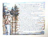"""""""Father's Love"""" a print of my illustrated poem"""