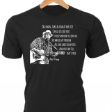 """Old Man Take a Look at My Life"" • Neil Young lyrics T-Shirt"