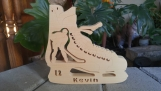 Personalized Wooden Hockey Skate