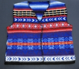 Country-Style Multi-Colored Vest