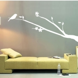 """ShaNickers Wall Decal/ Sticker-""""Birdie Perched""""-FREE SHIPPING TO US!!"""