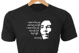 """I want to love you, and treat you right"" • Bob Marley T-Shirt"
