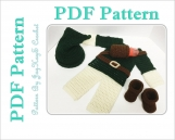 Crochet Pattern Link Baby Costume Legend of Zelda Outfit