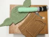 Yoda Crochet Costume Newborn Outfit Star Wars