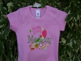Personalized Appliqued Monogram Birthday Tee Shirt - Custom Made Sizes 3 mos-Youth 12