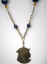 Explore your world Egyptian Necklace