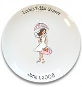 Bridal Shower Girl Signature Platter