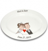 Starry Eyed Couple Wedding Signature Platter