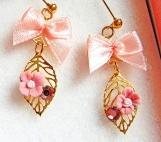 Romantic Secert Garden Swarovski Crystal Earrings