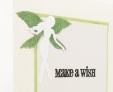 Green Fairy Birthday Card