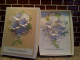 Wedding Card and Matching Box, Custom Order