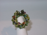 """Christmas Wreath"" Brooch"