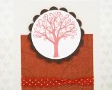 Hand Made Valentine or Anniversary Card - Love Tree