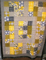 Birdies and Daisies Lap or Baby Quilt