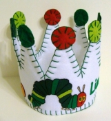 Very Hungry Caterpillar Felt Party Crown