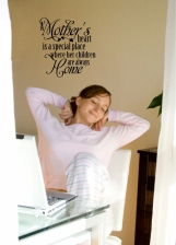 Wall Decal - A mothers heart is.......
