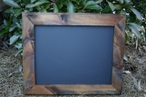 """Natural stained Frame Chalk Board 18""""x22"""""""