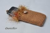 Hand Crochet iPhone Sleeve iPod Case handmade iphone 3, 4 case