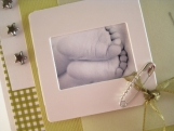 Little Feet - Gender Neutral Baby Card