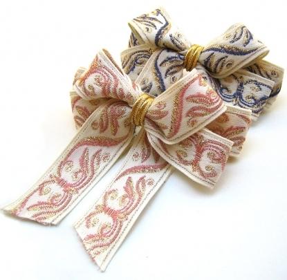 Cute Ribbon Barrettes by DistinQue