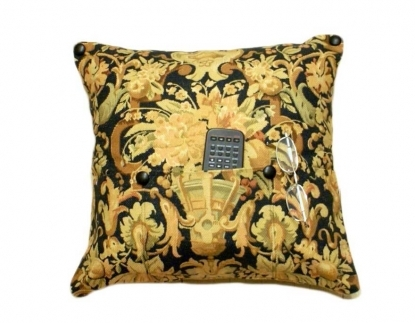 For HIM! POCKET PILLOW Remote Holder in Classic Ralph Lauren,