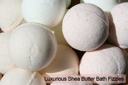 Luxurious Shea Butter Bath Fizzies