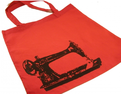 Sew a Go-Go Tote -Red