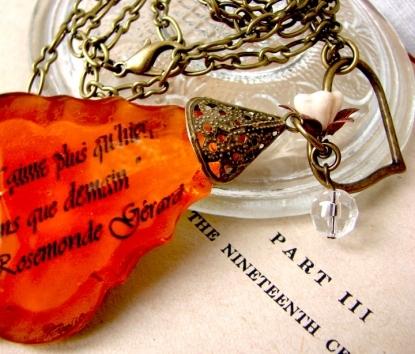 Chandelier Prism Necklace - Paris Collection