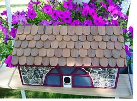 Handmade Cedar Mailbox