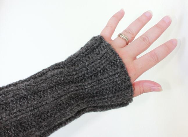 Arm warmers.