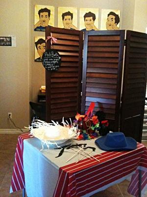 Birthday Photo Booth.