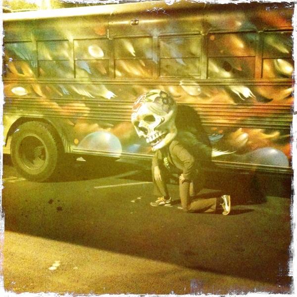 giant dia de los muertos skull costume