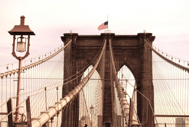 Brooklyn Bridge by Justine benstead